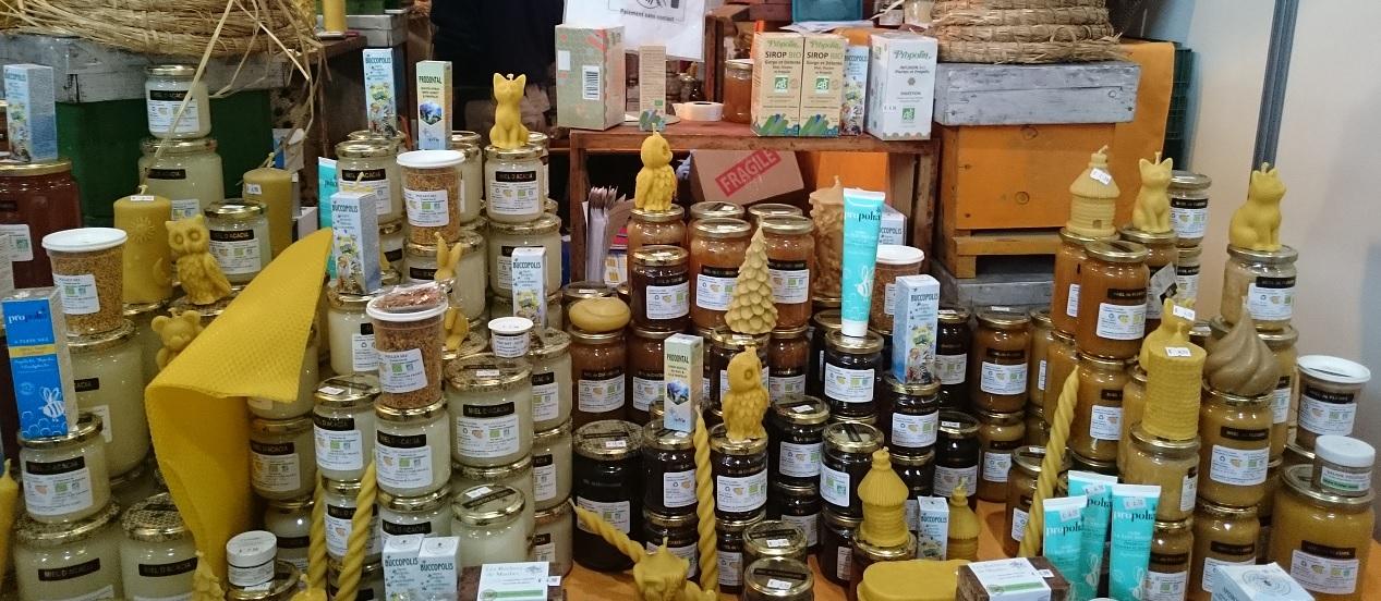 Salon vivez nature - miel bio