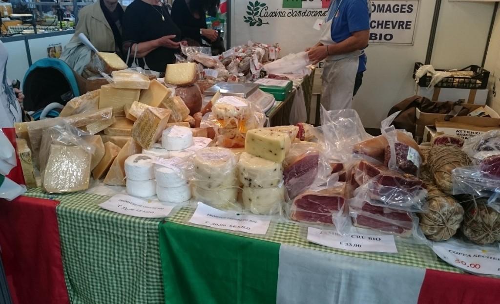 Salon vivez nature - charcuterie et fromages bio