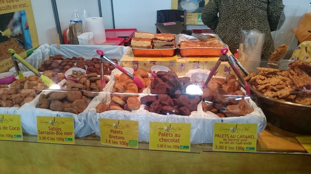 Salon vivez nature - biscuits bio