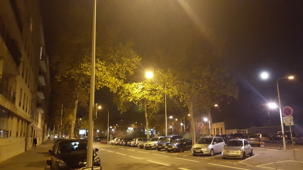 Galaxy S6 - Rue de nuit