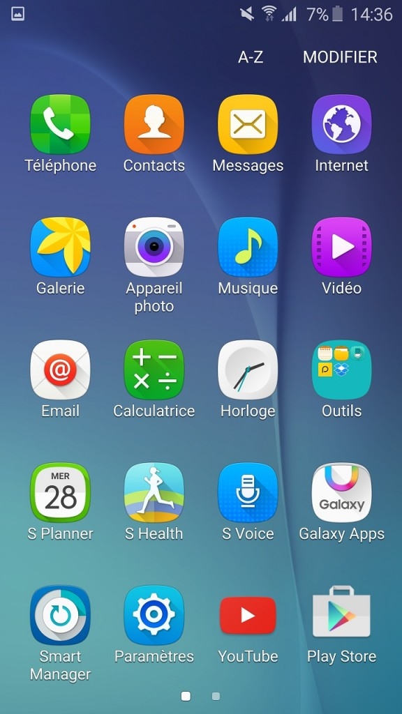 Screenshot Galaxy S6 - 2