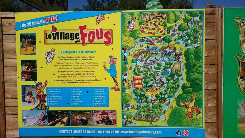 Village des fous - Le plan