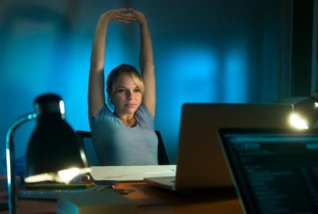 Faire des étirements pour se déstresser