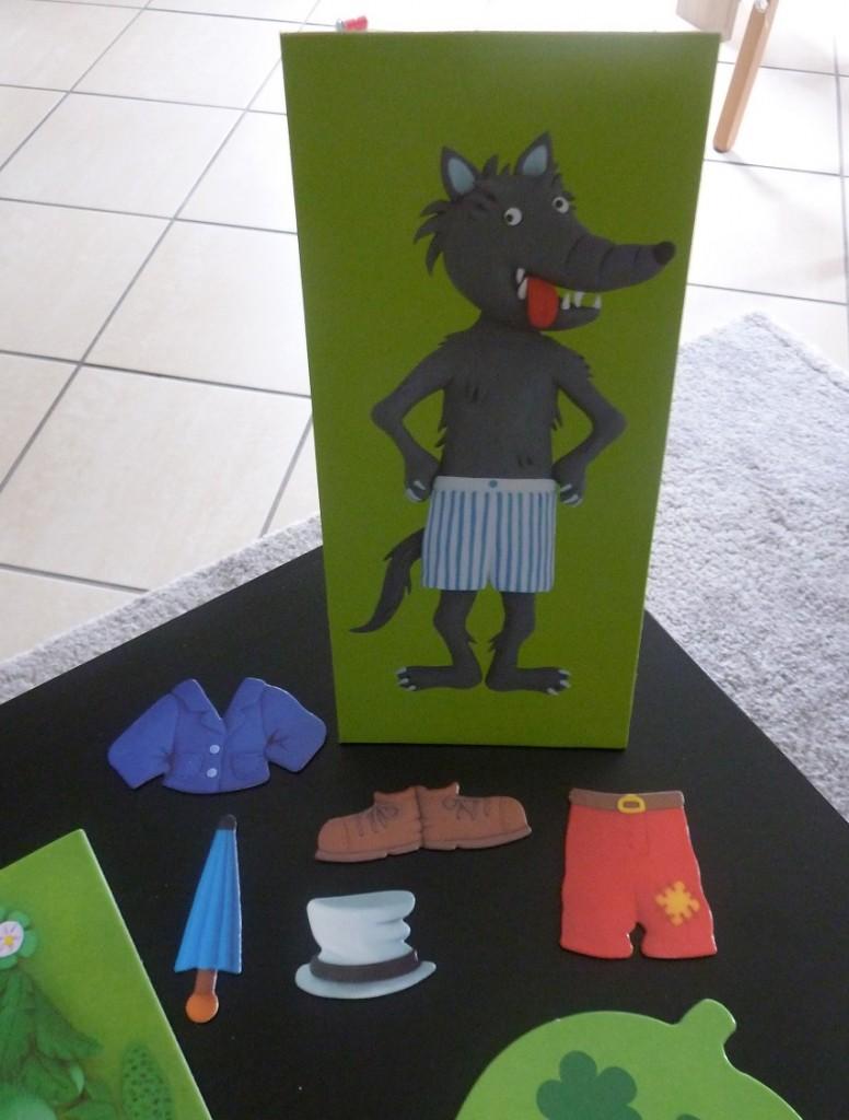 Le jeu du loup - Nathan - Jeu de société pour enfants