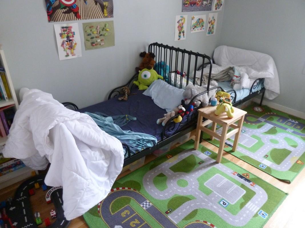 La chambre des jumeaux : ensembles ou séparés ?