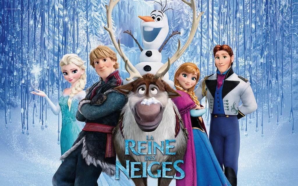 Coloriage reine des neiges pour les 2 ans du dessin anim - Chateau de la reine des neige ...