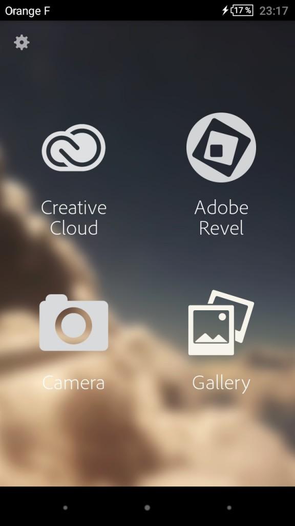 Retouche photo sur smartphone - Adobe Photoshop Express 1