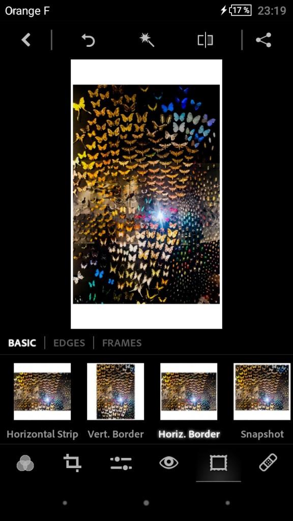 Retouche photo sur smartphone - Adobe Photoshop Express 3