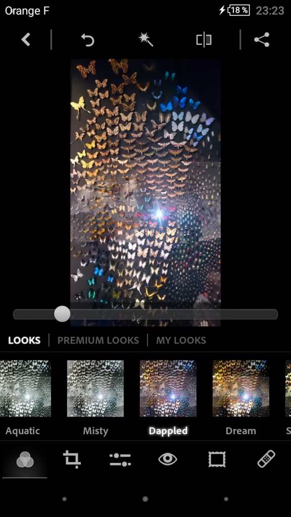 Retouche photo sur smartphone - Adobe Photoshop Express 4