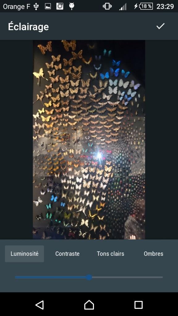 Retouche photo sur smartphone - Photo editor Aviary 4