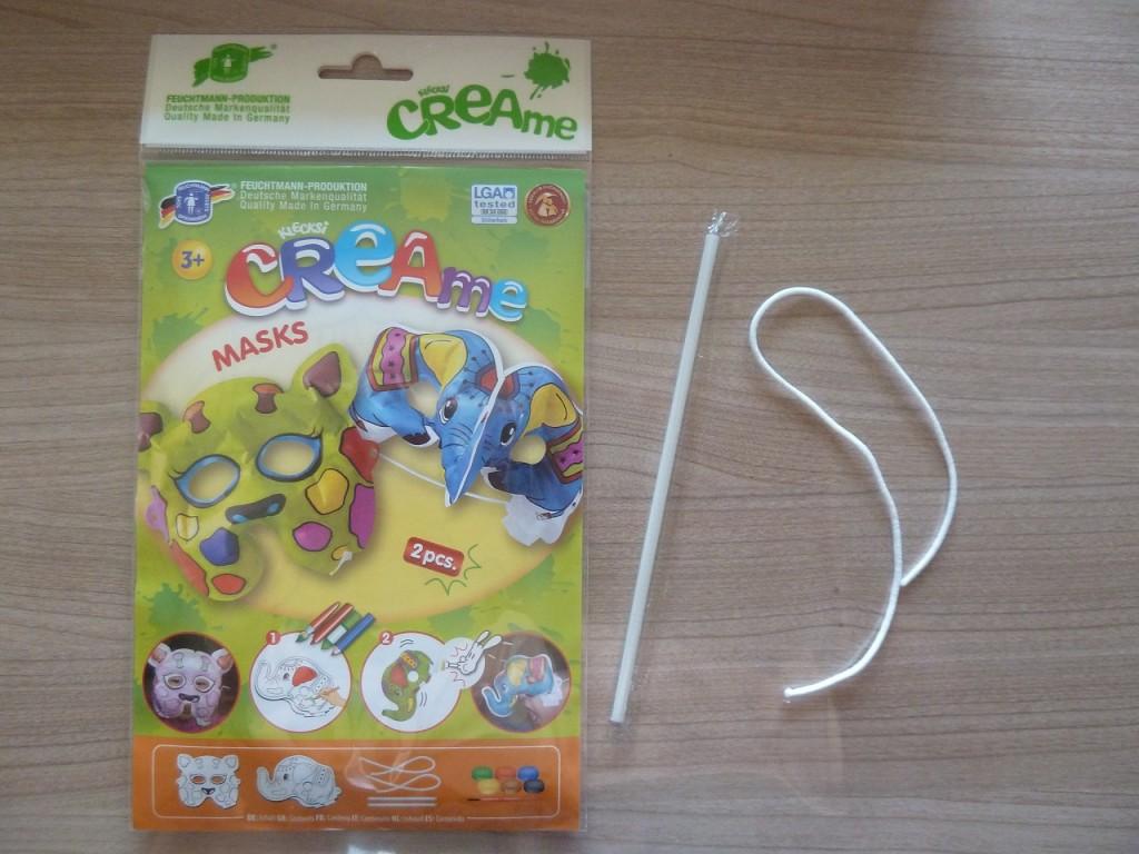 Activité enfants - Masques à peindre et à gonfler - 2