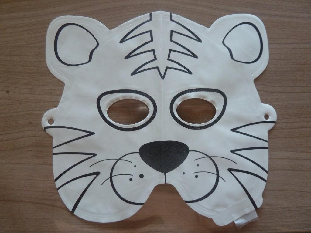 Activité enfants - Masques à peindre et à gonfler - 4