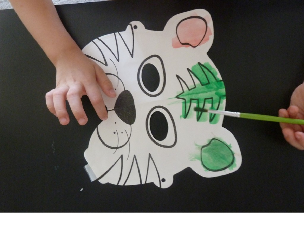 Activité enfants - Masques à peindre et à gonfler - 6