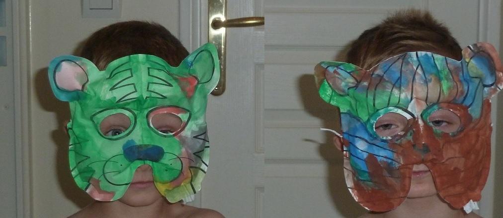 Activité enfants - Masques à peindre et à gonfler - 8