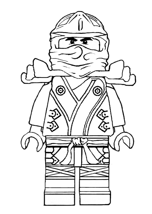 Lego ninjago jay coloring pages of printable lego best - Coloriage ninja ...