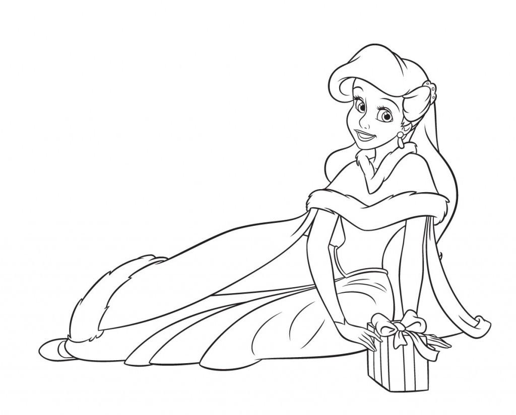 Coloriage en ligne princesse à imprimer gratuit - 16