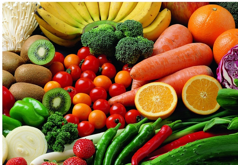 Comparatif et liste d'aliments riches en vitamine C