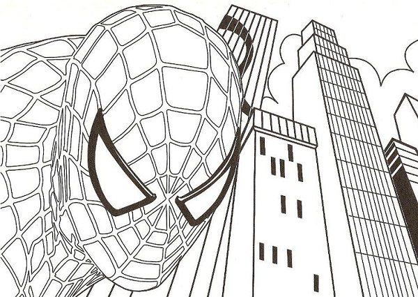Coloriage spiderman spiderman imprimer gratuit - Spider man en dessin ...