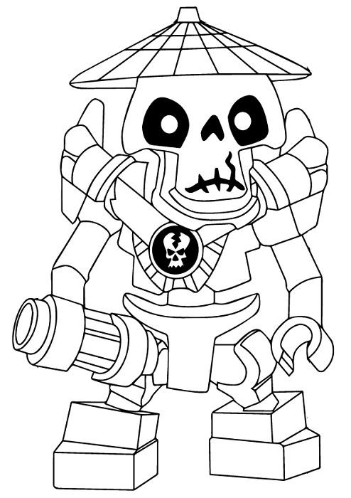 Coloriage et dessin de Ninjago