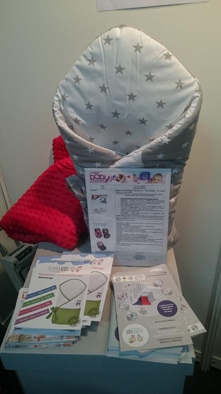 Sevira Kids propose une gigoteuse d'emmaillotage bien pratique