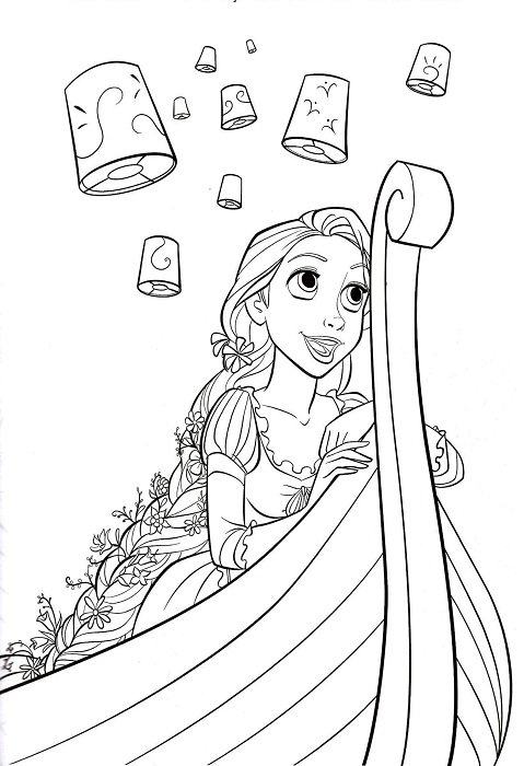tangled pascal coloring pages printable coloring pages