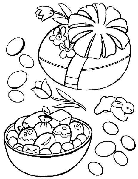 dessin de paques à imprimer 2