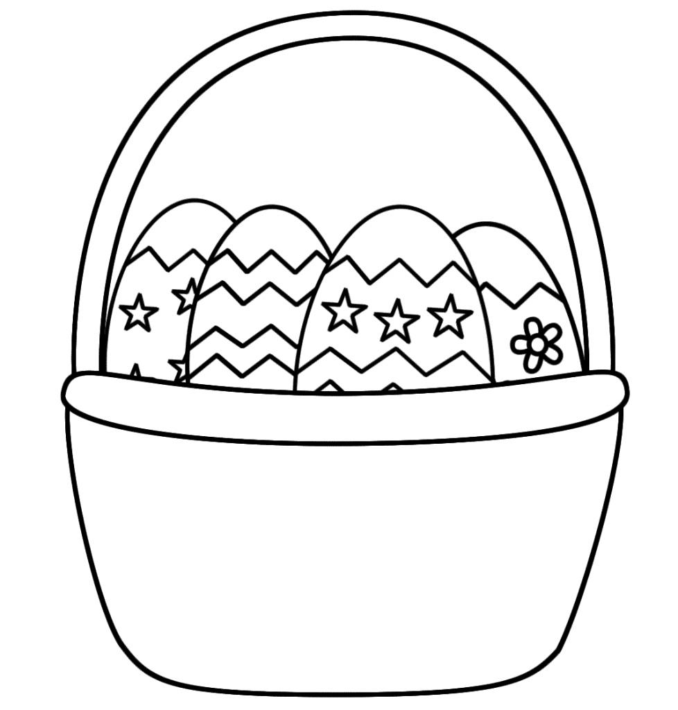 dessin de paques à imprimer 4
