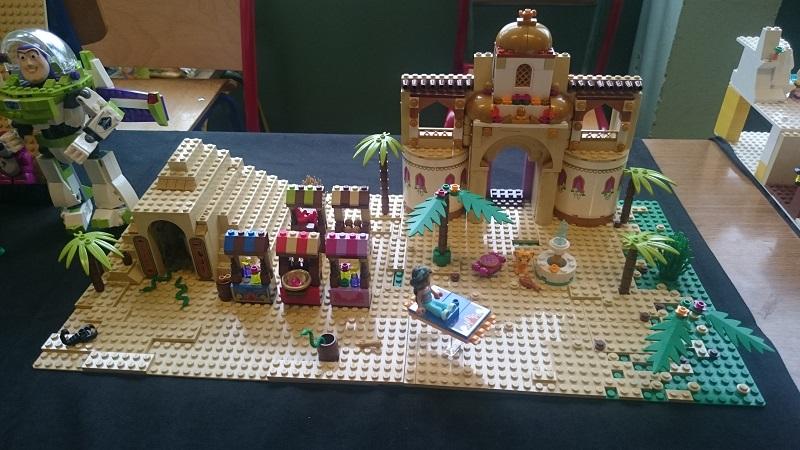 Lego MOC - Création Lego - Disney - Aladdin