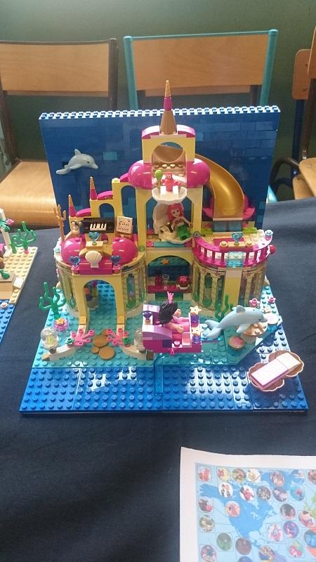 Lego MOC - Création Lego - Disney - Ariel