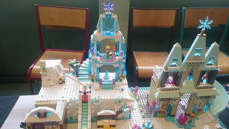 Lego MOC - Création Lego - Disney - Frozen - La Reine des Neiges