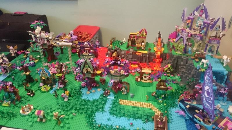 Lego MOC - Créations Légo - elfes/elven