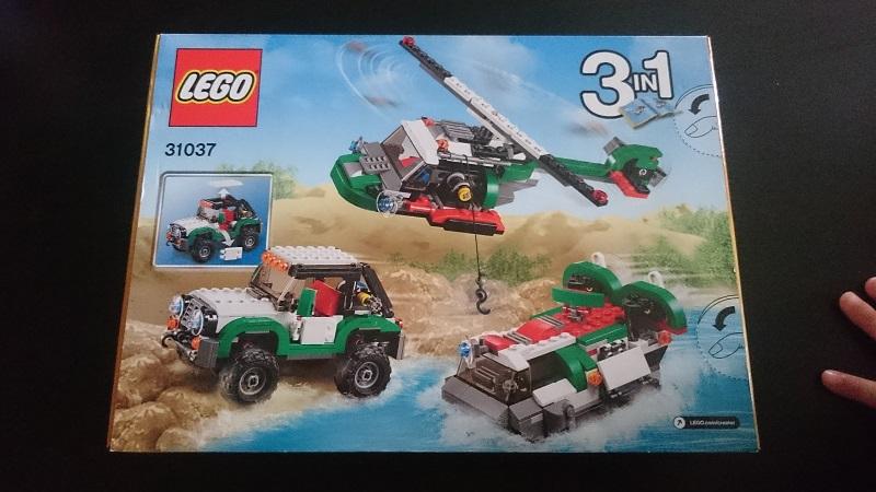 Boite de Lego gagnée :)