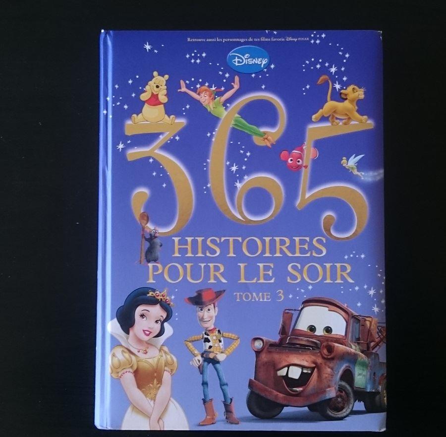 365 histoires pour le soir - Couverture