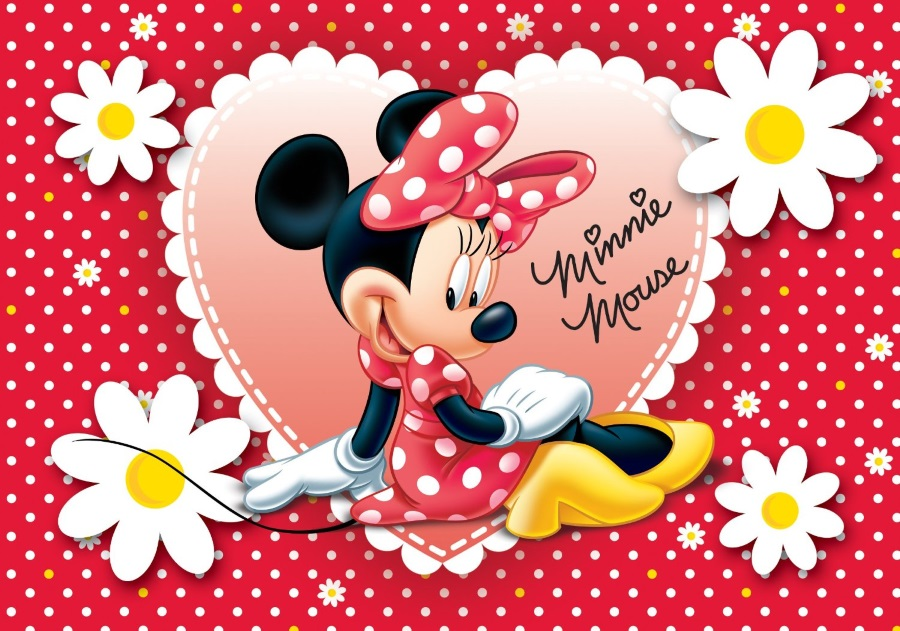 Coloriage minnie et dessin minnie imprimer avec mickey - Photo minnie et mickey bebe ...