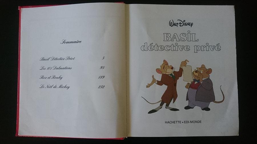 Recueil des chefs d'oeuvre de Walt Disney - 1