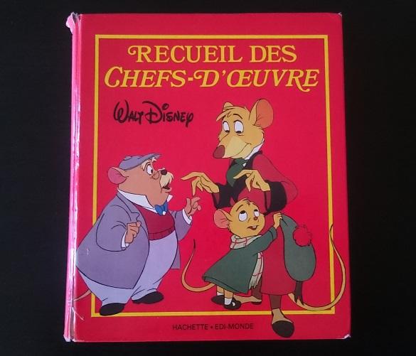 Recueil des chefs d'oeuvre de Walt Disney -Couverture