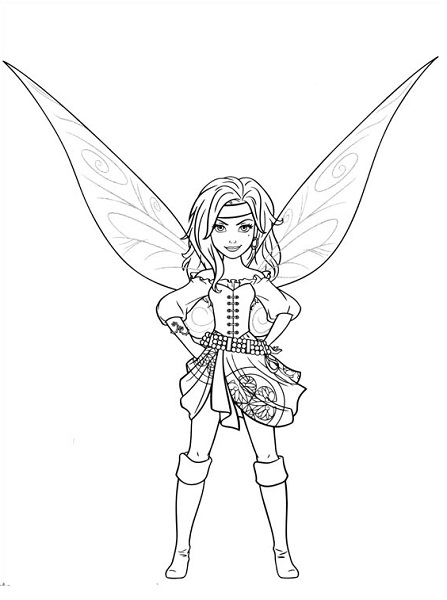 rani the fairy coloring pages - photo#18