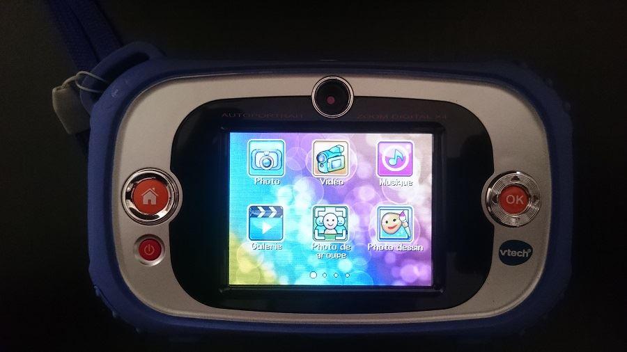 Kidizoom Touch Connect - Test de l'appareil photo numérique pour enfant de Vtech - Fonctionnalités page 1