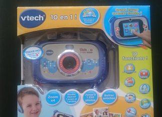 Kidizoom Touch Connect test et avis de l'appareil photo numérique pour enfants de Vtech