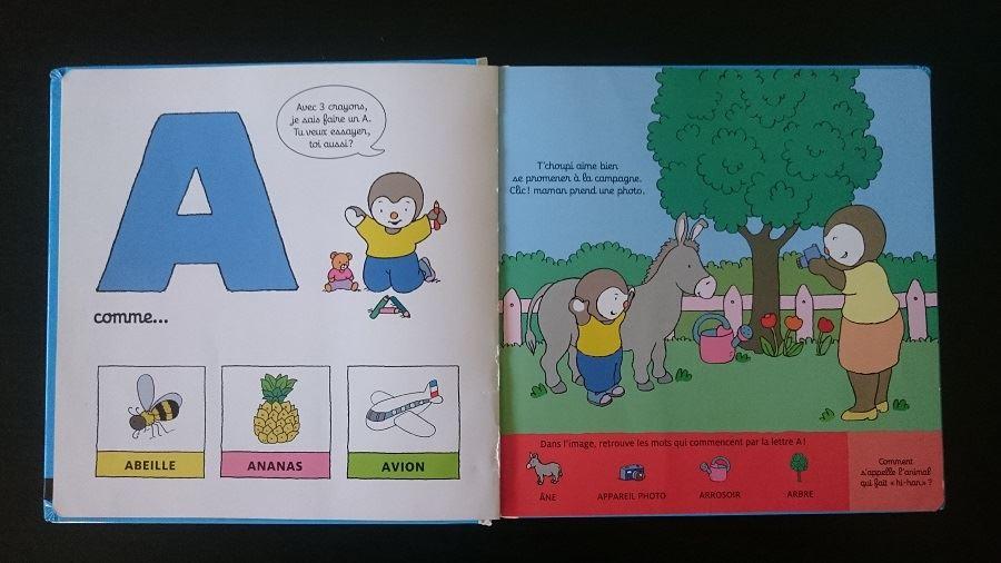 L'apprentissage de l'alphabet – Abécédaire de Tchoupi - 3