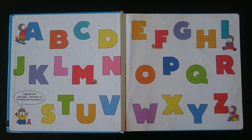 L'apprentissage de l'alphabet – Abécédaire de Tchoupi - 2