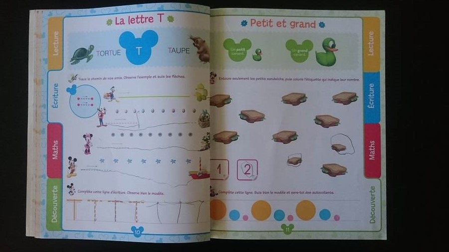 L'apprentissage de l'alphabet – Ma méthode pour les twins - J'apprends avec la Maison de Mickey - 2