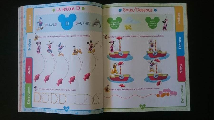 L'apprentissage de l'alphabet – Ma méthode pour les twins - J'apprends avec la Maison de Mickey - 3