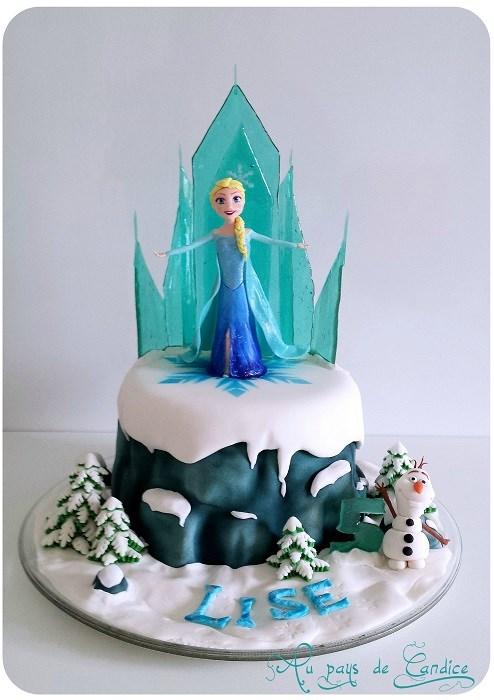 Activité d'anniversaire Reine des Neiges - Réaliser un château de glace