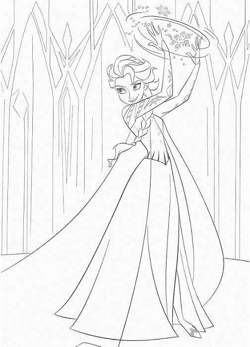 Search results for coloriage la reine des neiges - Coloriage de elsa ...