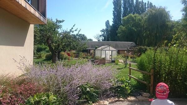 Découverte de l'îLoz de Miribel-Jonage - L'arrivée dans la partie jardin pédagogique