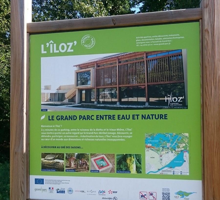 Découverte du centre pédagogique l'Iloz de Miribel-Jonage