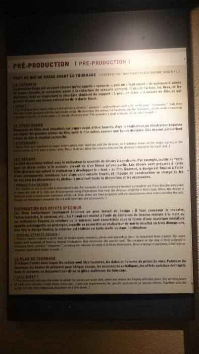 Musée miniature et cinéma de Lyon - Explications sur la préproduction