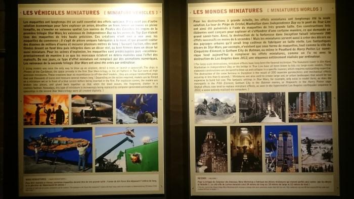 Musée miniature et cinéma de Lyon - Explications sur les véhicules et objets miniatures