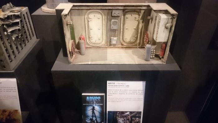 Musée miniature et cinéma de Lyon - Maquette de la station sous-marine Abyss